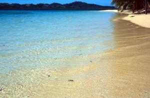 Fiji - isola di Caquelai - spiaggia
