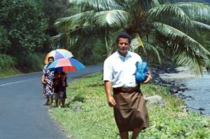 Samoa - verso Apia