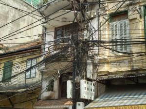 Vietnam - Hanoi - rete elettrica