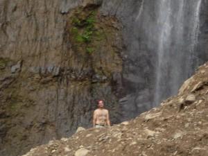 America Centrale - Nicaragua - Isla de Ometepe - le cascate