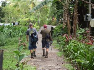 America Centrale - Costarica - Tortuguero - trekking nella foresta
