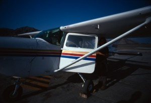 Peru - Nazca - prima del volo