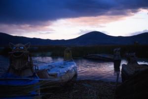 Peru - tribù Uros - lago Titicaca