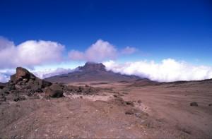 Tanzania - sotto la cima del Kilimanjaro - il Mawenzi