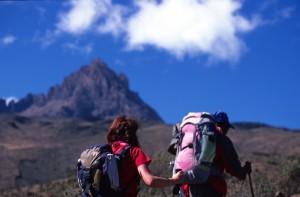 Tanzania - Kilimanjaro - verso il campo 4