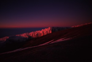 Tanzania - Kilimanjaro - l'alba dalla vetta