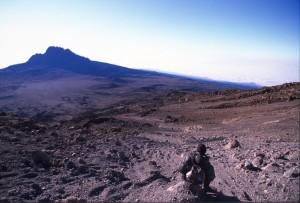 Tanzania - Kilimanjaro - scendendo dalla vetta