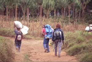 Tanzania - partenza per il Kilimanjaro