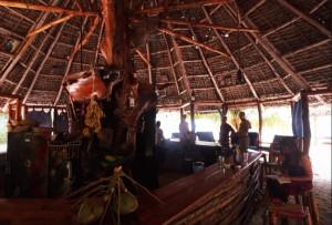 Tanzania - Zanzibar - il beach bar del Mount Zion
