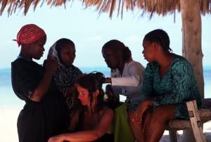 Tanzania - Zanzibar - le treccine