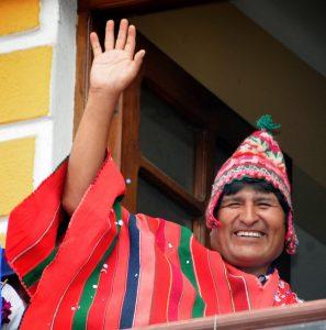 evo morales 7 297x300 - Evo Morales presidente