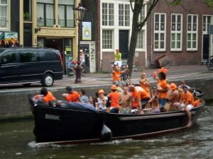 Amsterdam - vigilia finale campionati del mondo di calcio