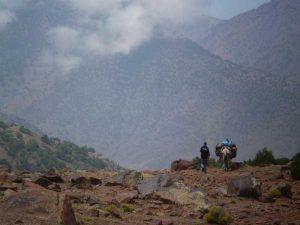 Marocco - Trekking sull'Atlante - il passo