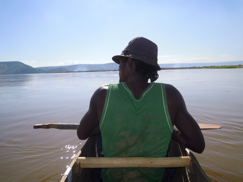 Madagascar - La discesa del fiume Tsiribina