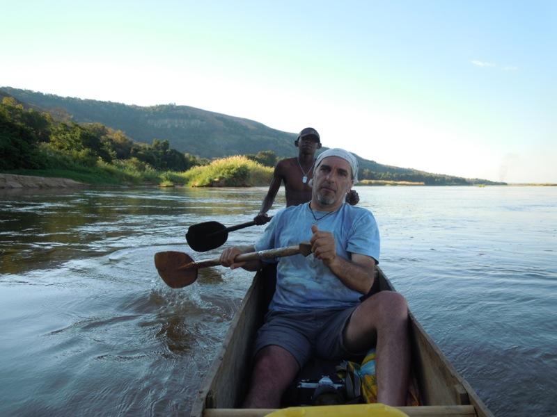 Madagascar - pagaiando sul fiume Tsiribina
