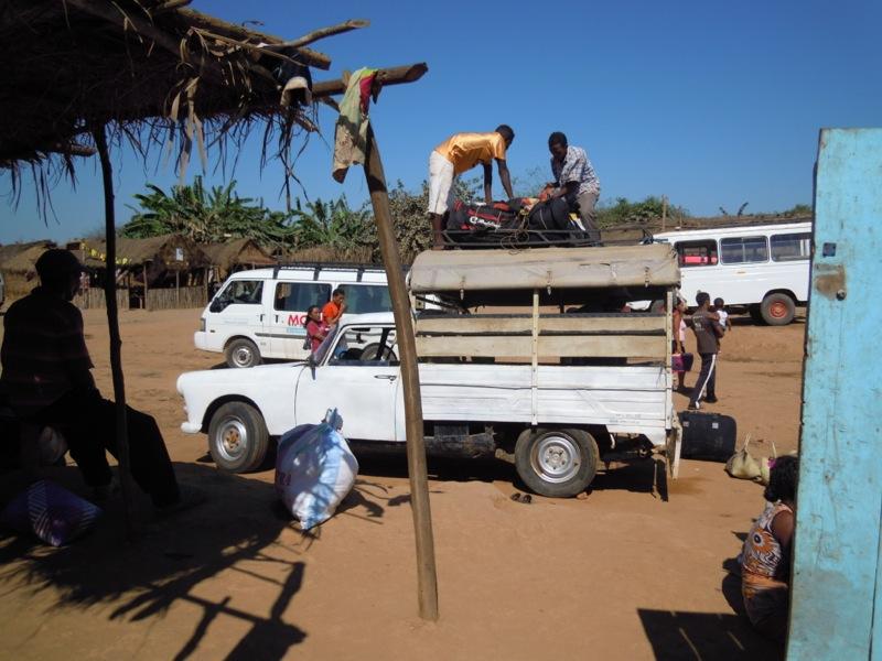 Madagascar - taxi brousse