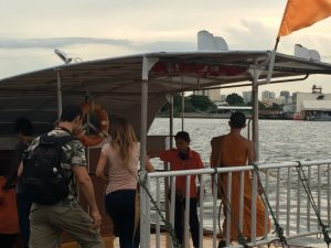 Bus boat in Bangkok