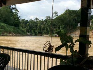 Park gate - river - Malaysia
