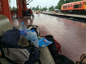Thailand Railway - train station