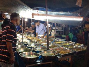 Suratthani - night market