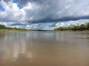 secca sul Rio dal Peru alla Colombia