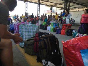 police control - Tabatinga pier - Brasil
