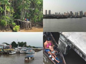 avvicinandosi a Belem - Amazzonia