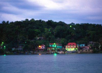 Arriving in Bocas del Toro - Panama, Central America