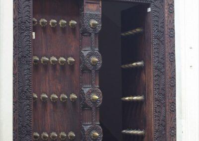 Artistic Wooden Door - Stone Town - Zanzibar, Tanzania