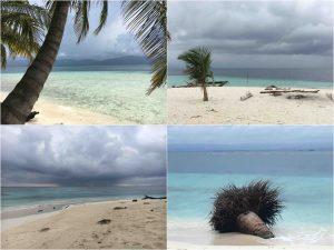 beaches in san blas panama 300x225 - Dalla Colombia a Panama - l'Arcipelago di San Blas!