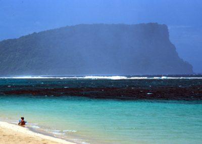 Big Rock on the Sea - Fiji, Samoa