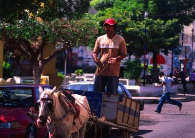 Cart in the Center - Granada - Nicaragua, Central America
