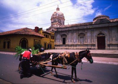 Cart - Leon - Nicaragua, Central America