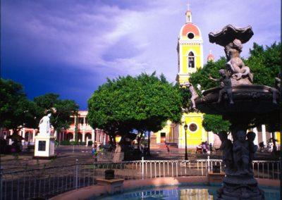 Center of Granada - Nicaragua, Central America