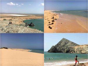 coast sea sand in la guajira colombia 300x225 - Penisola della Guajira - l'estremo nord del Sudamerica