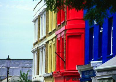 Coloured House - London, England