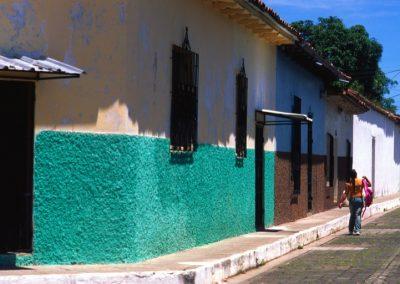 Coloured Street - Suchitoto - El Salvador, Central America