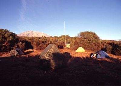 First Base Camp - Kilimanjaro Trekking - Tanzania
