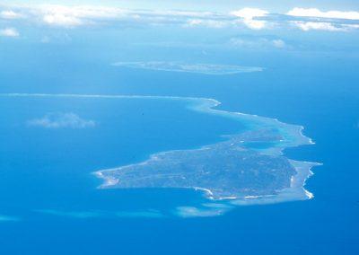 From the Airplane - Fiji, Samoa