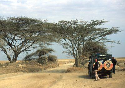 Gate of Serengeti National Park - Tanzania
