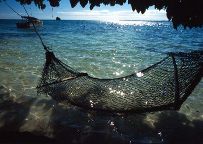 Hammock on the Sea - Fiji, Samoa
