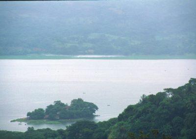 Lake Suchitlan - Suchitoto - El Salvador, Central America