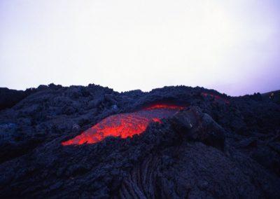 Lava - Volcano Pacaya - Guatemala, Central America