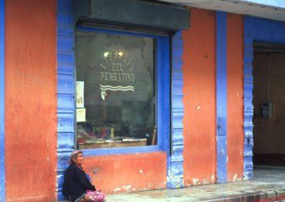 Library - Antigua - Guatemala, Central America
