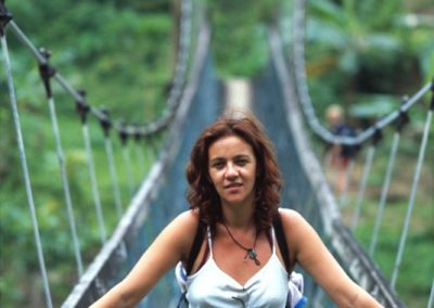 Me across the Bridge - Fiji