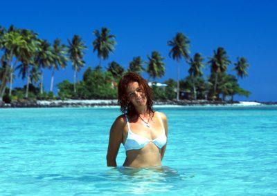 Me in Paradise Beach - Fiji, Samoa