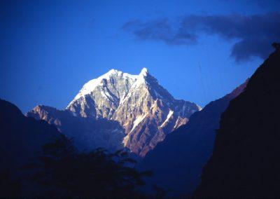 Mountain with Snow - Nepal