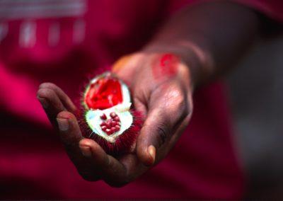 Natural Lipstick - Spices Tour - Zanzibar - Tanzania