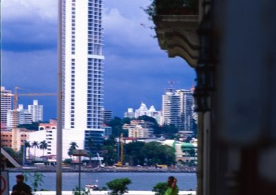 Old and New - Panama City - Panama, Central America