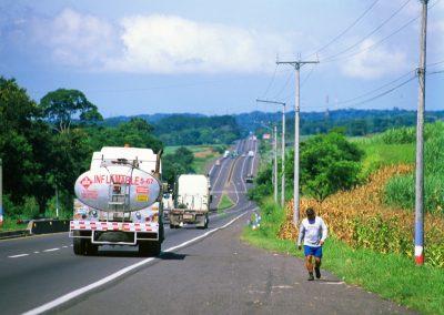 On the Road - Ruta de Las Flores - El Salvador, Central America